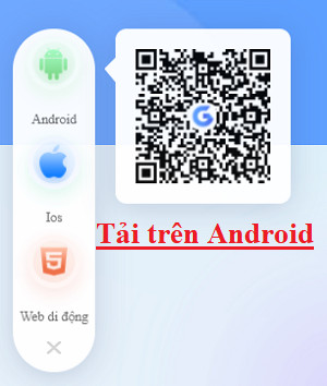 Tải app Gi8 trên Android