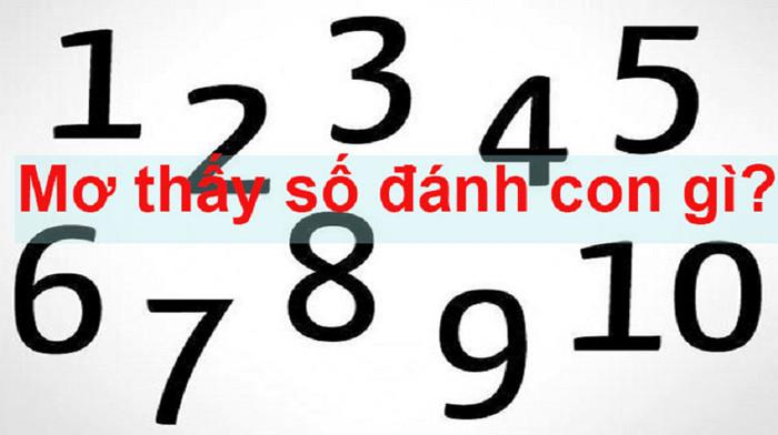 Giải mã giấc mơ thấy số đề đánh con gì?